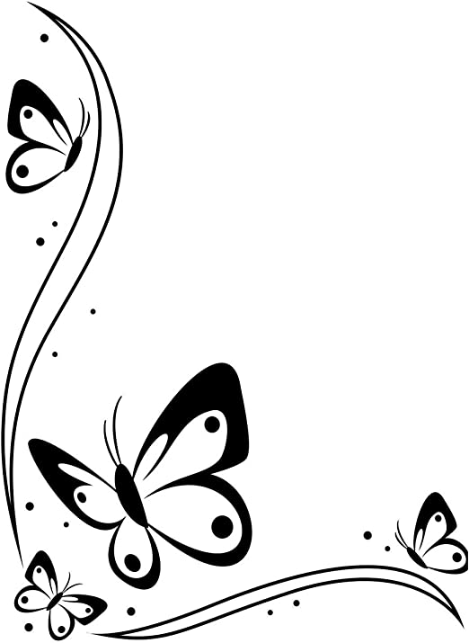 Darice Embossing Folder Butterflies 4.25 X 5.75 Inches