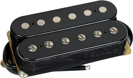 DiMarzio DP191BK - Pastilla para guitarra eléctrica, color negro: Amazon.es: Instrumentos musicales