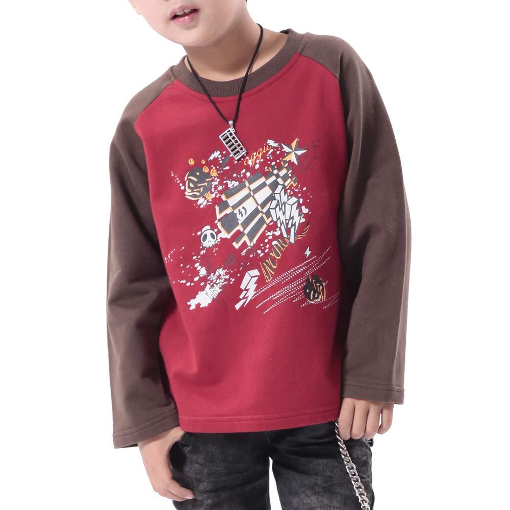 ANCORAGGIO Kids French Terry Sweatshirt for Boys