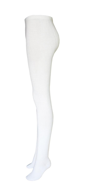 Ladies warm Angora wool tights with seamless toe