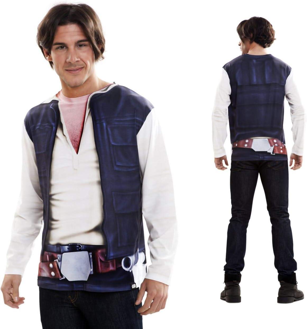 Disfraz Camiseta de Star Wars Han Solo Original de Carnaval para ...