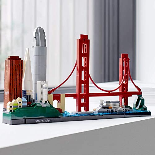 #海淘#LEGO乐高Architecture 建筑系列 21043旧金山天际线