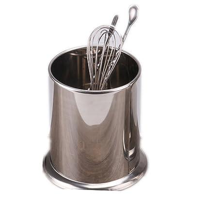 kentop posate Contenitore in acciaio inox porta utensili ...