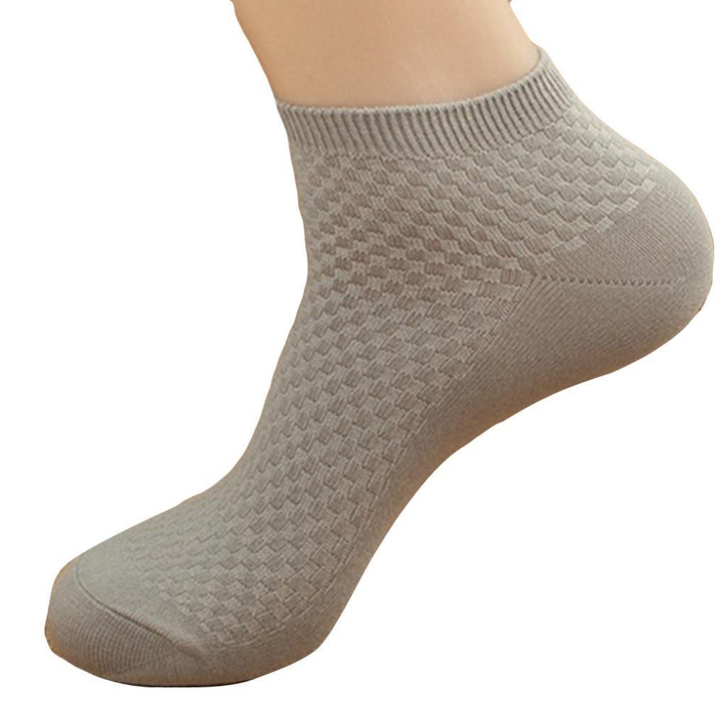 YJYda Calcetines para Hombre, cómodos Calcetines de Fibra de ...
