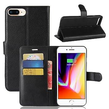 Funda iPhone X - Monedero de piel Monedero Flip Cover Con ...
