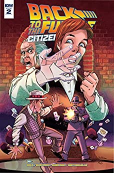Back To The Future: Citizen Brown #2 (of 5) by [Gale, Bob, Burnham, Erik]