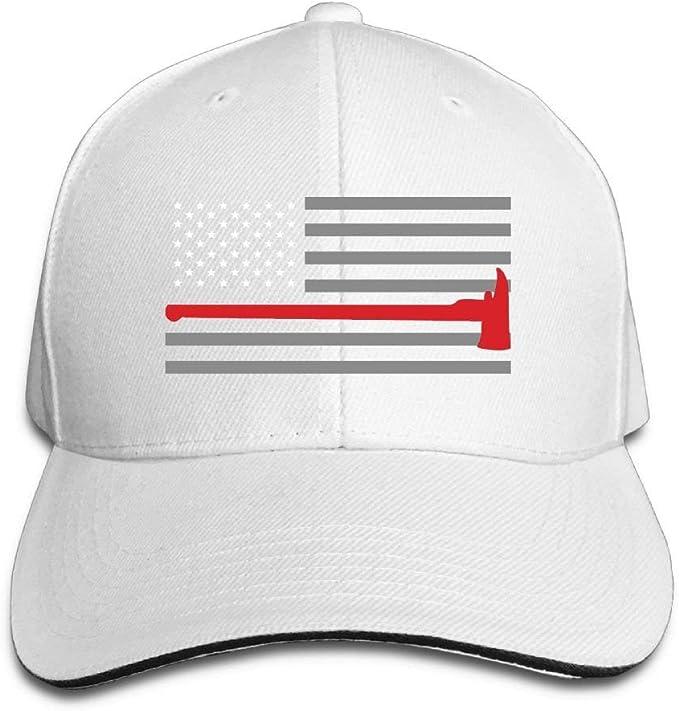 Aeykis Thin Red Line Flag Axe 1 Gorra de algodón de diseño Unisex ...