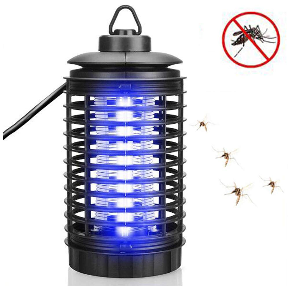 Electronic Insect Killer,UV Light Lamp Bug Zapper Kills Flies,Poison-Free, Home Use Fly Killer,for Outdoor Indoor