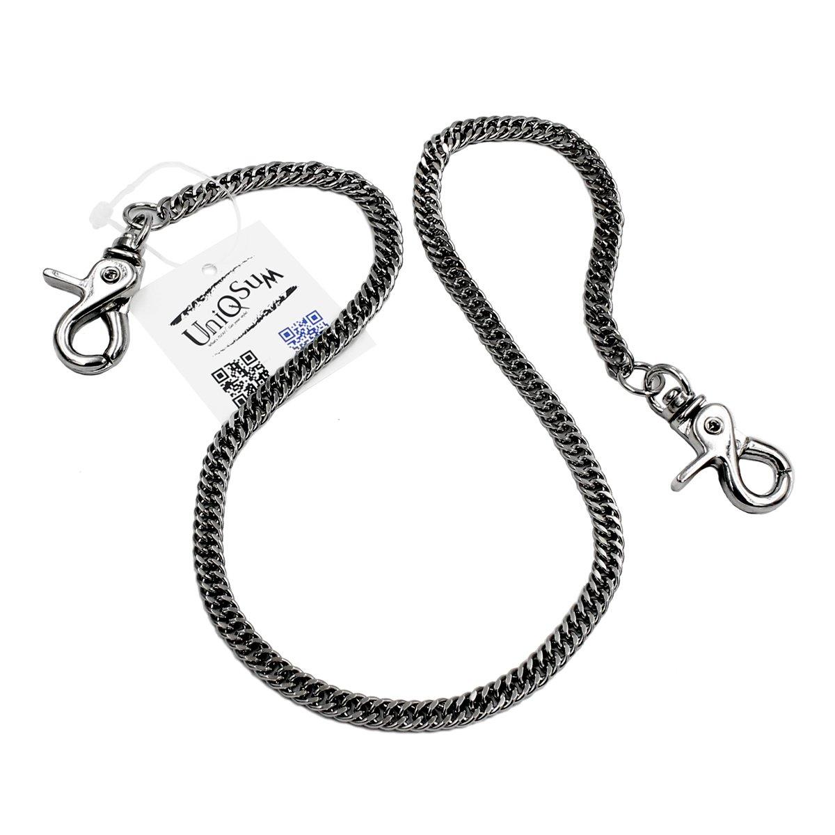 8cd655a0338d Lightweight Super Thin Cut Link Wallet Chain Swivel Trigger snap ...