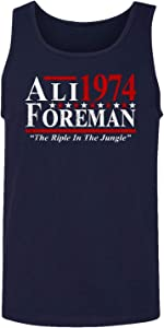 Baku Apparel Boxing Ali - Foreman The Rumble in The Jungle Men's Tank Top