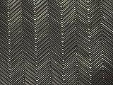 SoleTech 9 Iron Black Herringbone Rubber Soling Sheet