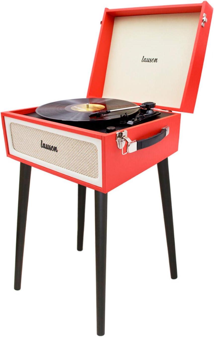 Lauson Yt078 Plattenspieler Mit Lautsprecher Retro Elektronik
