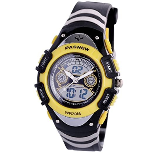 Los relojes de los hombres aire libre impermeable reloj deportivo escalar montañas mesa multifunción boys-C: Amazon.es: Relojes