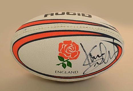 Kevin Sinfield firmado Mini balón de Rugby Leeds rinocerontes ...