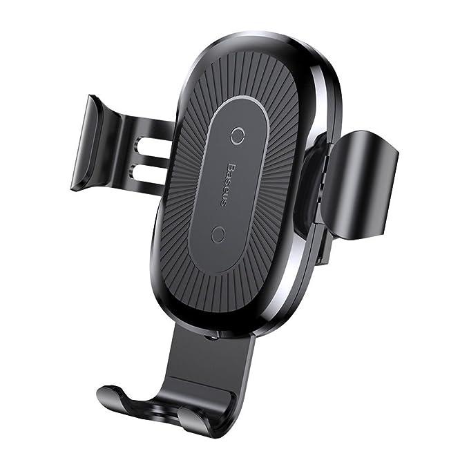 Qi - Soporte inalámbrico para Cargador de Coche para iPhone ...