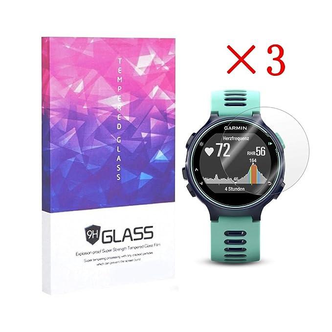 3 opinioni per Elecguru 3x Garmin Forerunner 735x T schermo trasparente 9H 2.5d pellicola