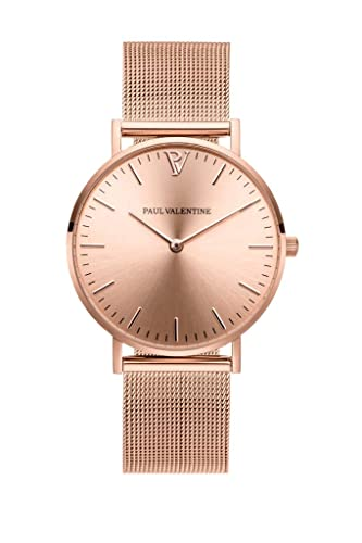 Paul Valentine Melrose Mesh - Reloj de Pulsera para Mujer (36 mm)