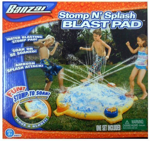 (Banzai Stomp N'Splash BlastPad )