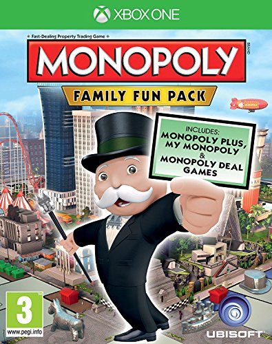 Monopoly Family Fun Pack (Xbox One) UK IMPORT