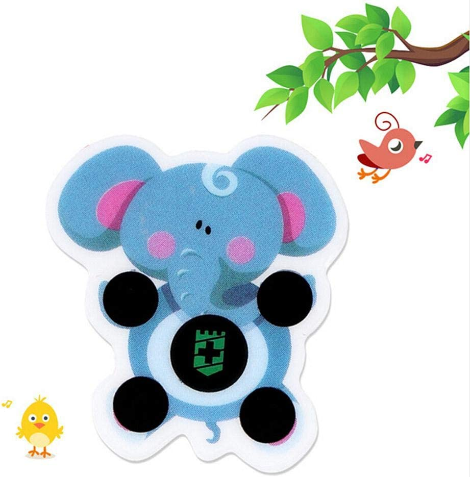 30pcs Cartoon Sticker LCD Forehead Thermometers Body Fever Thermometers Head Bands Fever Stickers for Kids Body Thermometer-Baby Forehead Strip Stickers Thermometer