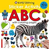 Sticker Activity ABC: Over 100 Stickers with Coloring Pages (Sticker Activity Fun) (Paperback)