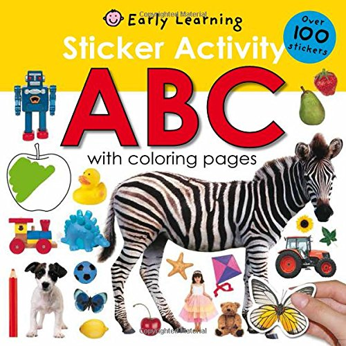 Sticker Activity ABC Stickers Coloring product image
