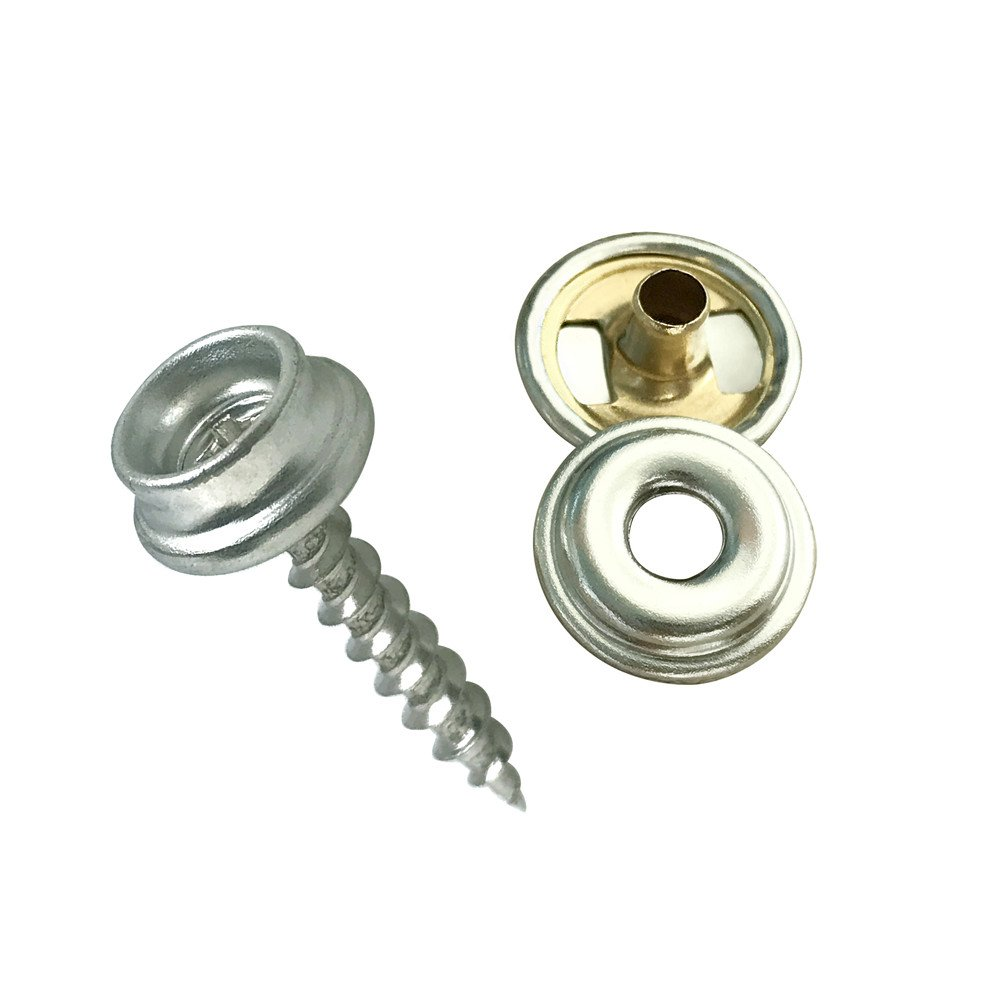 60 Pieces Marine Grade Boat Canvas Snaps Stainless Steel Fastener Screw Snaps for Furniture Canvas Fabric Boats World 9.99 Mall Fastener Screw Snaps