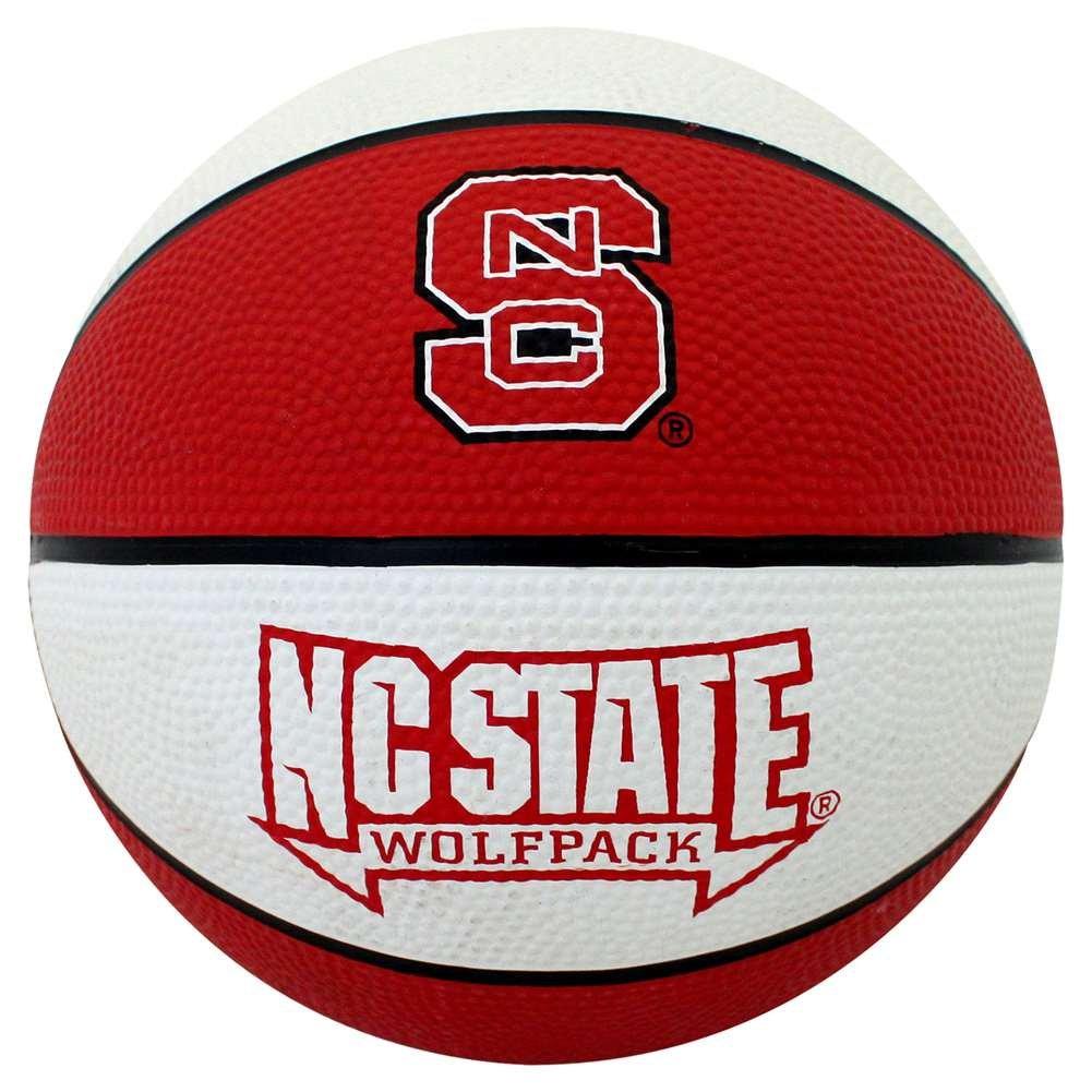 North Carolina State Wolfpack Mini Rubber Basketball B01HQXZGDE