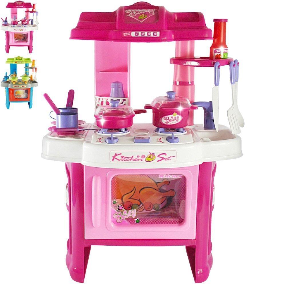 Infantastic Kinderküche Spielküche Kinderspielküche mit Licht- und ...