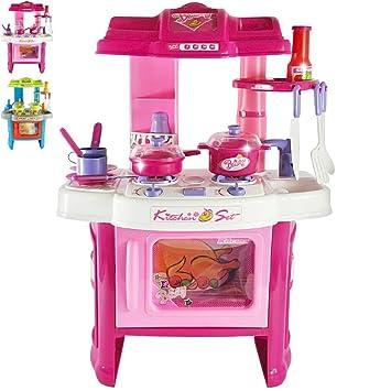 Infantastic Cucina gioco cucina giocattolo per bambini con effetti ...