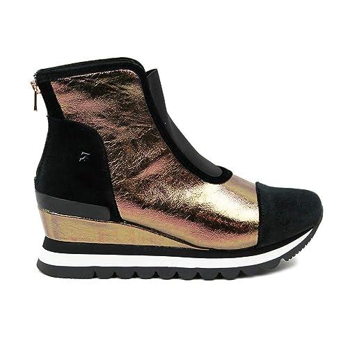GIOSEPPO 46527 Botin Elastico Mujer Cobre 41: Amazon.es: Zapatos y complementos