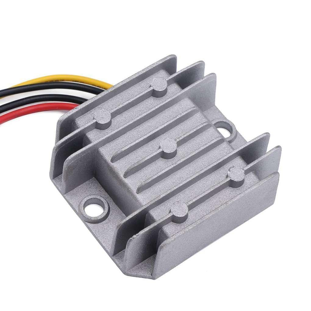 Bobury Anti-shock 12V 24V a 5V 5A Tensione riduttore DC step-down il convertitore 8-40V di 12V 10A DC Buck Converter