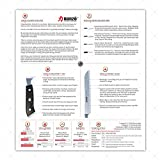 HANZO Chef Knife Professional Knives - 9.5 inch