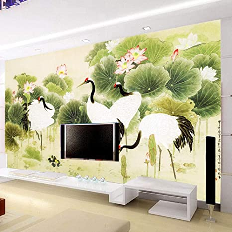 Sucsaistat 3d Wallpaper Mural 3d Landscape Backdrop Living Room