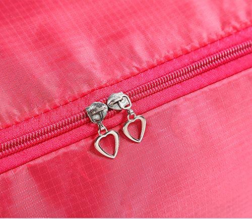 iTemer Aufbewahrungstasche mit Rei/ßverschluss und Griff Bettw/äsche Organizer Tasche f/ür die Saison Rose Rot Decken Steppdecke Un/übersichtlich bewegen