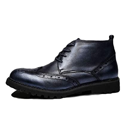 443e2daecf54 Amazon.com  Starttwin Men s Oxfords Boots Autumn Winter Non-Slip ...