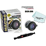 Raynox DCR-250, Macro-Scan 2.5x Super Macro Conversion Lens, with Snap-on Universal Mount for 52mm to 67mm Filter…