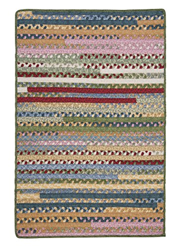 Market Mix Rect Rug, 4 by 6-Feet, Keepsake