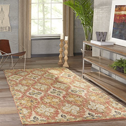 Momeni Rugs Tangier Collection Area Rug, 2 0 x 3 0 , Red