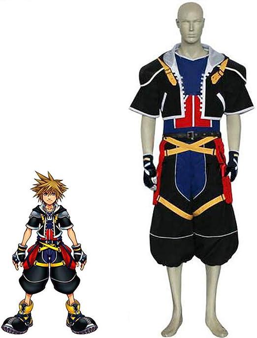 SHIXUE Kingdom Hearts Sora Disfraz Cosplay Adulto Disfraz De ...