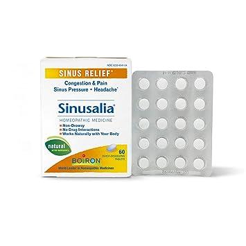 Boiron Sinusalia Sinus Relief, 60 Tablets