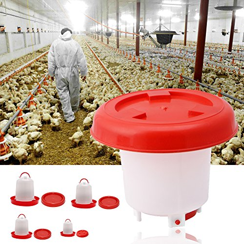 LAYs-Poultry-Waterer-Feeder-Drinker-Hanging-for-Farm-Garden-Chicken-Birds-Duck-Quail-Hen