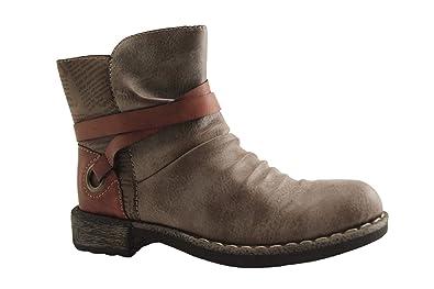 RIEKER Chaussures Sacs 746KO et BOOTS BRUN rxAwZrngHq