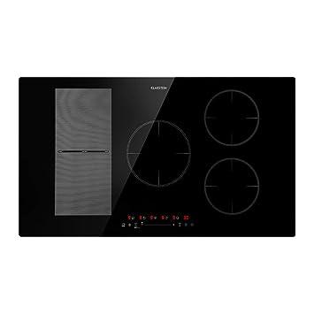 Klarstein Delicatessa 90 Hybrid Placa de cocina • Placa de inducción ...