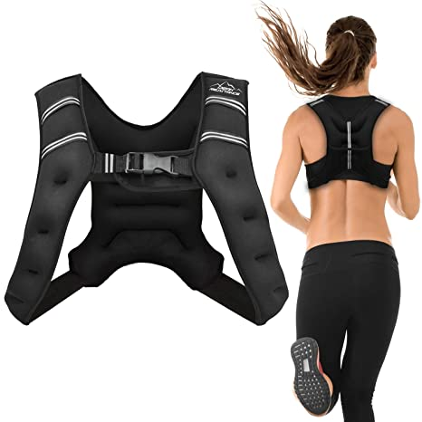 e629c95765a Amazon.com   Aduro Sport Weighted Vest Workout Equipment