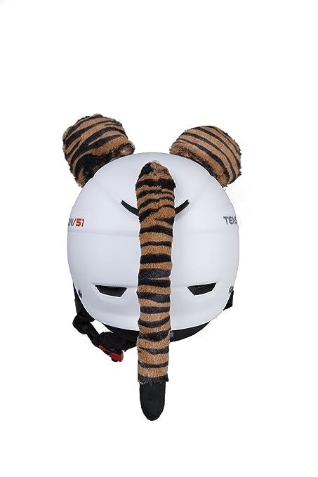 Accesorios para Casco Orejas de Tigre para acoplar al casco de esqu/í o moto de adultos y ni/ños