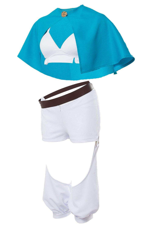 Karnestore Anime Anime Anime Schwarzer Klee Cosplay Kostüm Sol Marron Outfit Damen XL 066070
