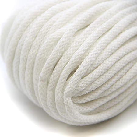NTS Nähtechnik - Hilo de algodón para ganchillo con núcleo (50 m ...