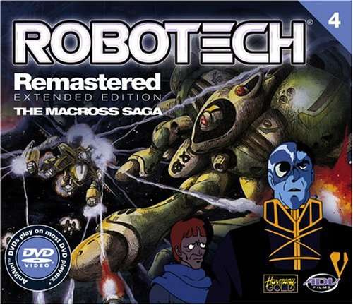 Robotech Remastered, Vol. 4 - Color Minidisc