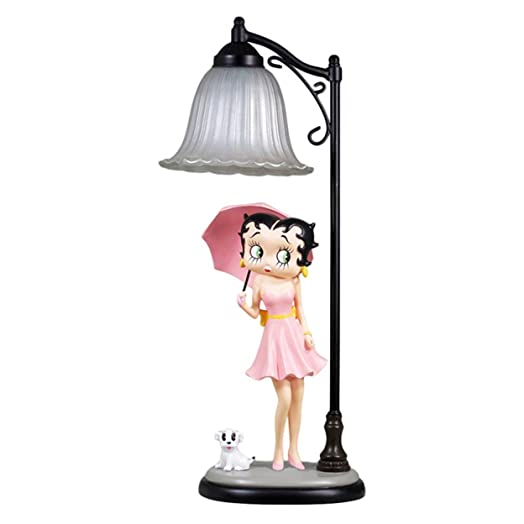 Beautiful Betty Boop Parasol Figurine Table Lamp 56cm   Collectable